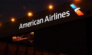 American Airlines Signage